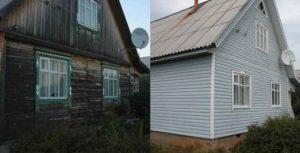 обшить сайдингом деревянный дом своими руками технология