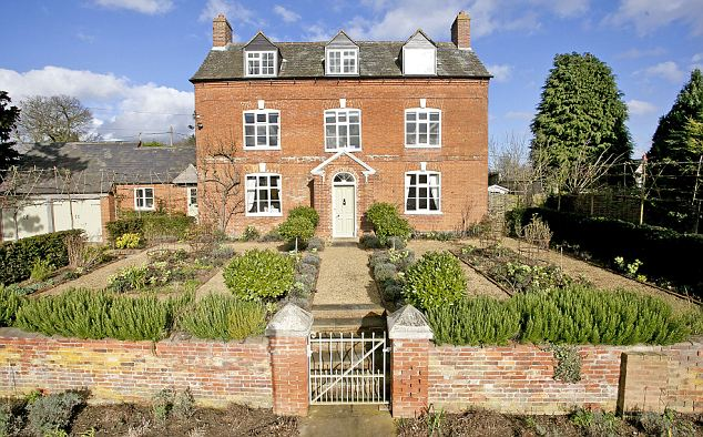 GOADBY LEICS: Handsome Grade II-listed Georgian house with five ensuite bedrooms, and a double garage with an office/studio. It has planning permission for a kitchen extension. Strutt & Parker (01858 410008, struttandparker.com) £895,000