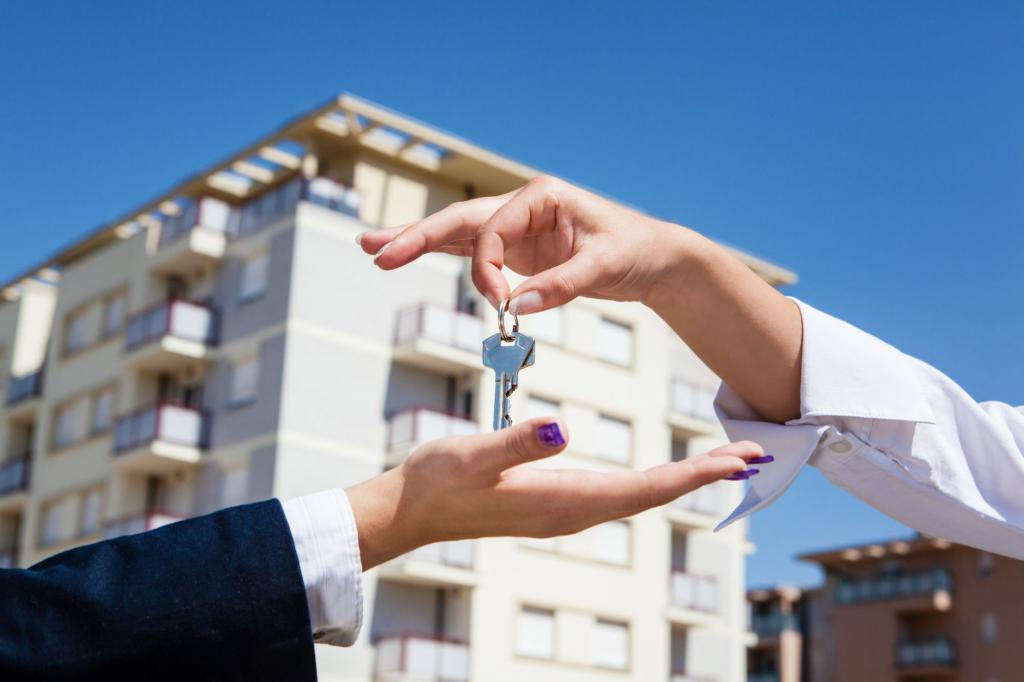 buying an apartment through an Agency